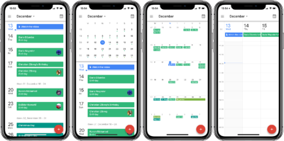 Google-Calendar-iPHone-X