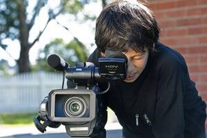 Filmmaking workshop at Sydney Olympic Park