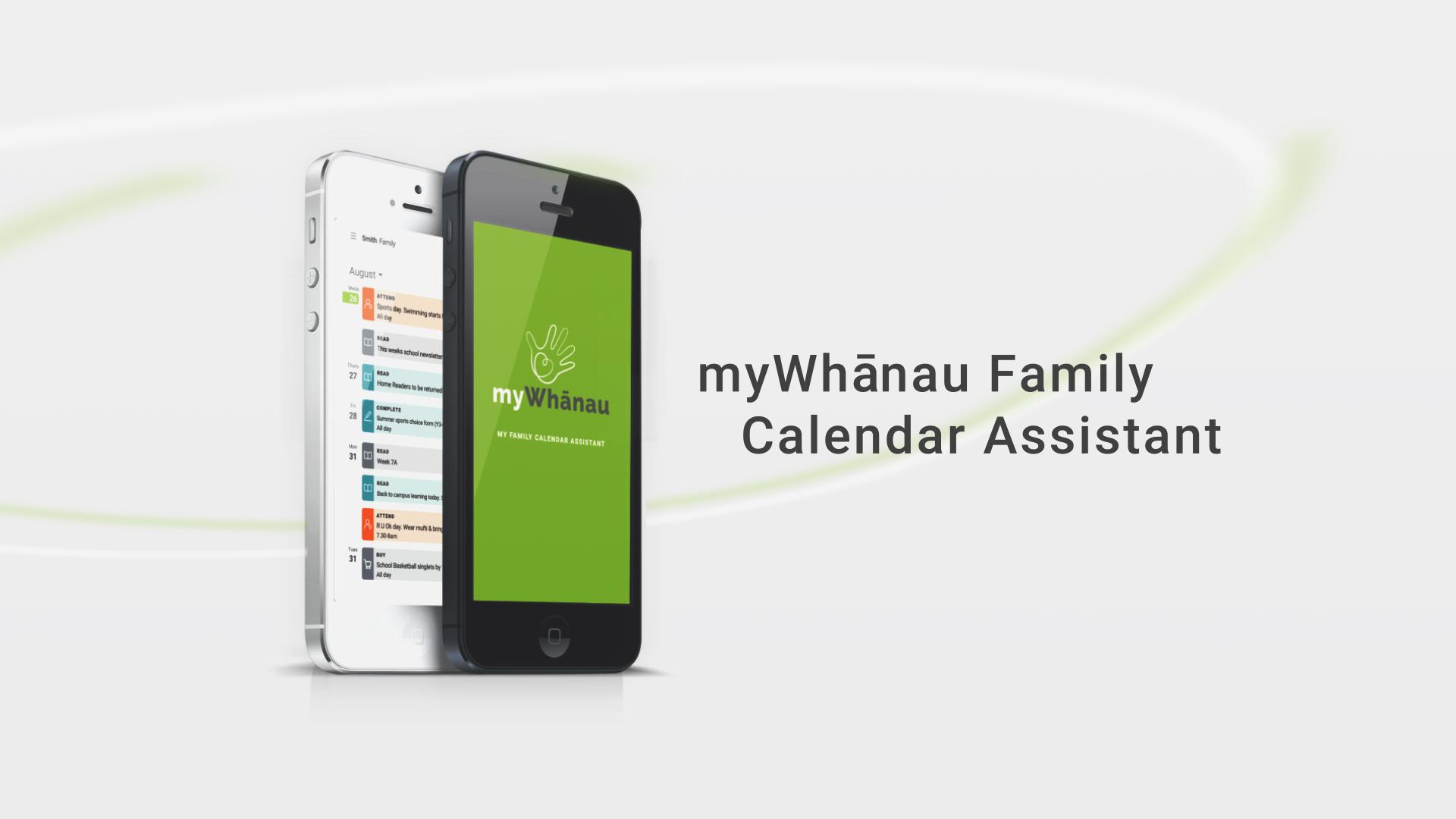 myWhanau Family Calendar Assistant