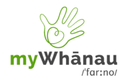 myWhanau-grey-logo-phonetic
