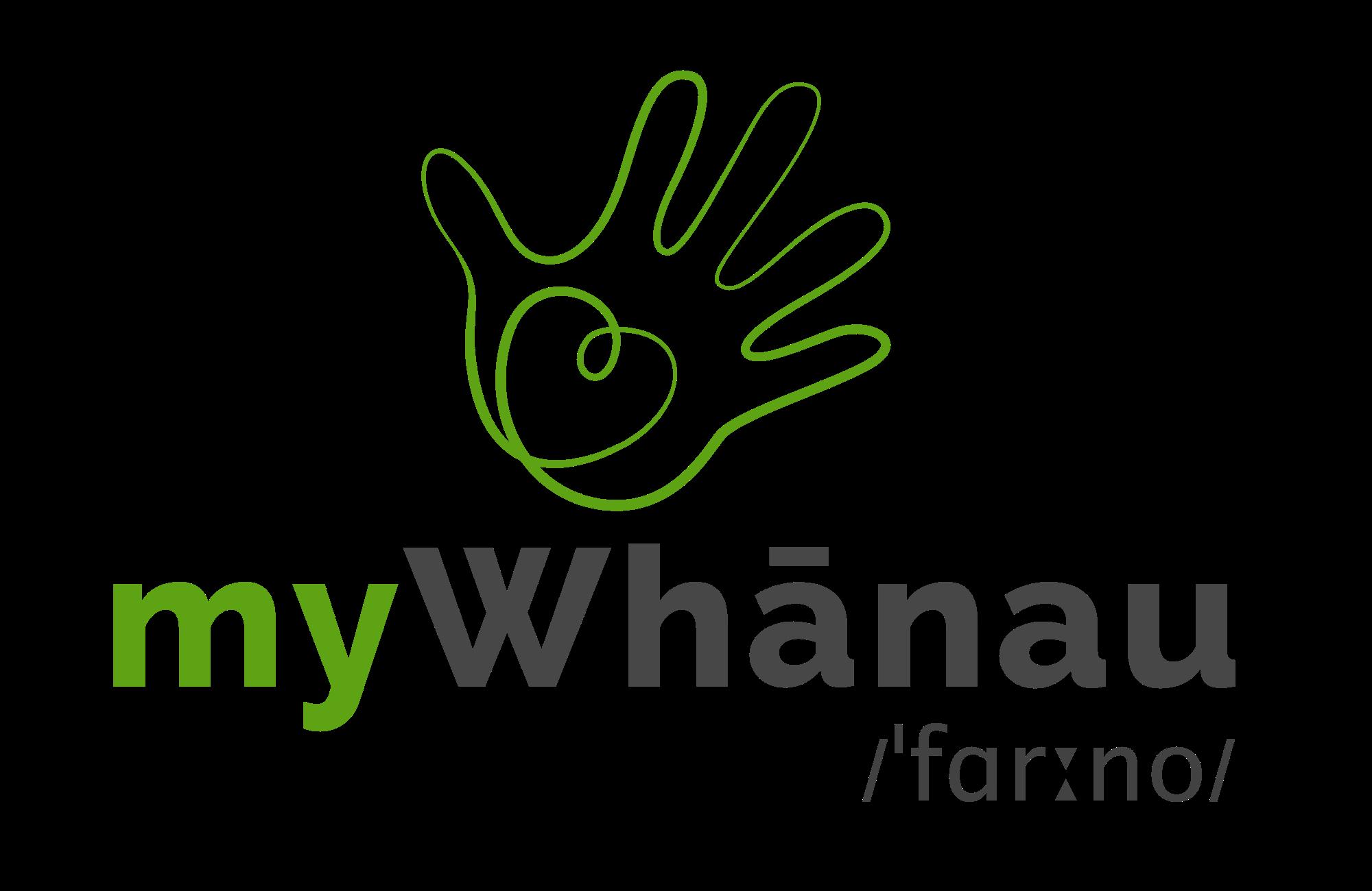 myWhanau-logo-phonetic