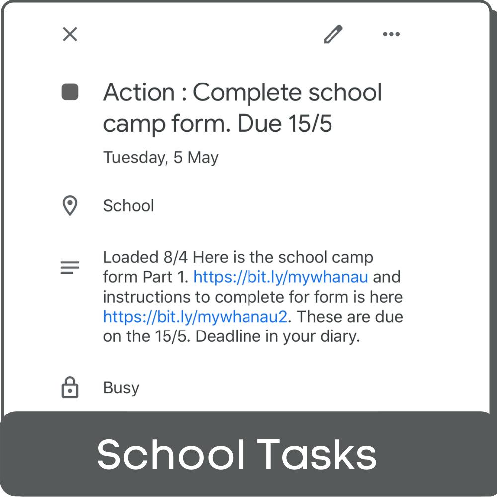 Example Parent actions block-1