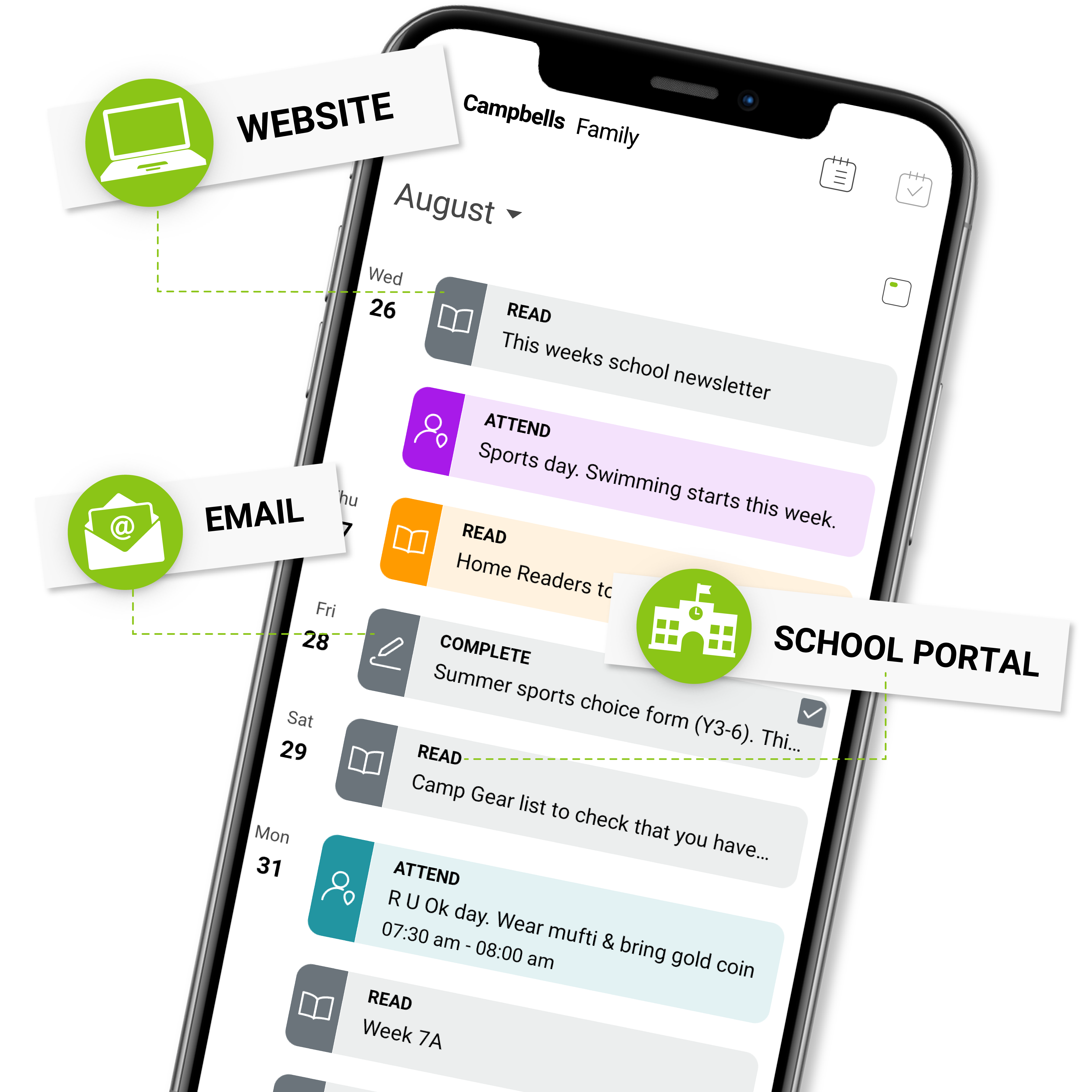 School Calendar Assistant App_01-1