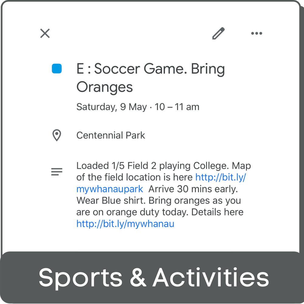 Sport activity block-1